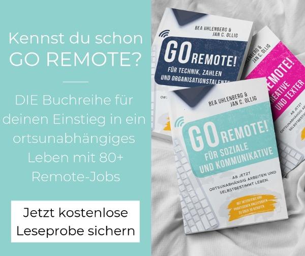Teaser Leseprobe GO REMOTE!
