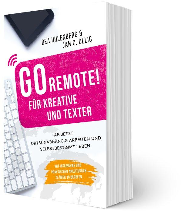 Go Remote für Kreative und Texter_Cover Taschenbuch