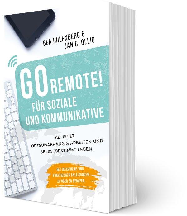 Go Remote für Soziale und Kommunikative_Cover Taschenbuch