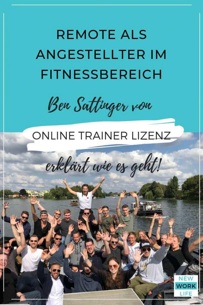 Pinterest-Bild für Blogpost_Online Trainer Lizenz_Ben Sattinger_web2