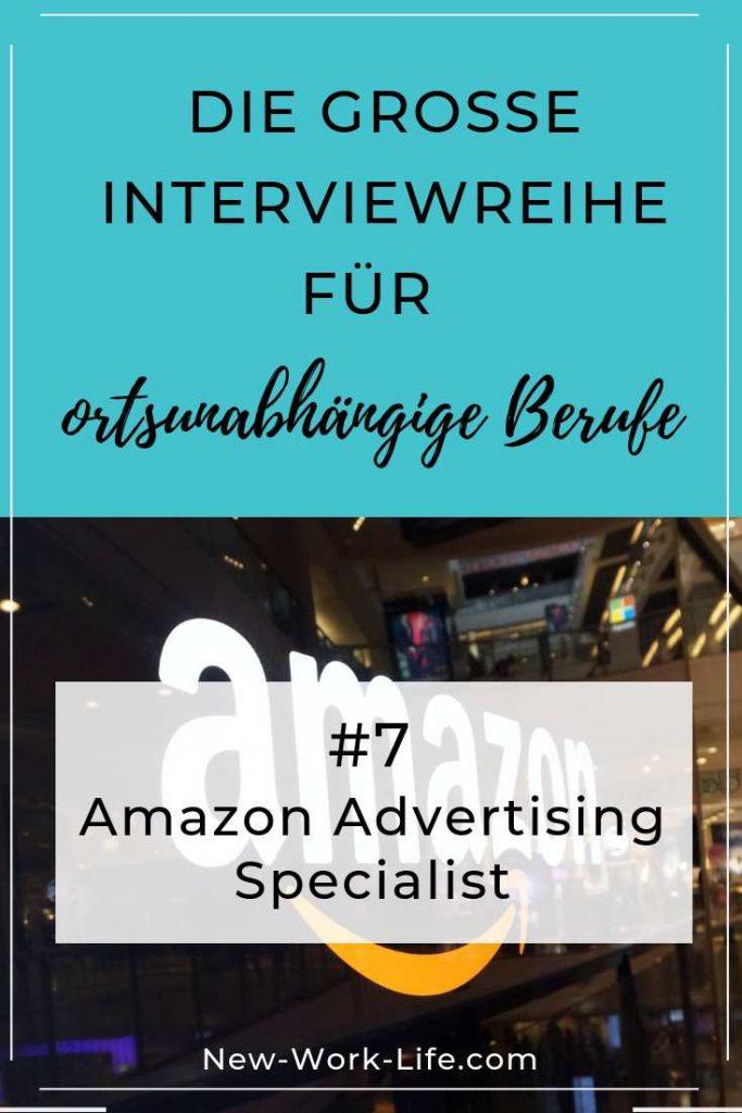 Pins für Pinterest_Amazon Advertising Specialist ALS REMOTE JOB IN FESTANSTELLUNG_Marko Lang