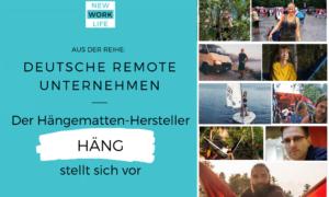 Deutsche Remote Unternehmen_Der Hängematten-Hersteller HÄNG stellt sich vor