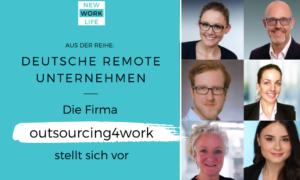 Das deutsche Remote Unternehmen Outsourcing4Work stellt sich vor_Header