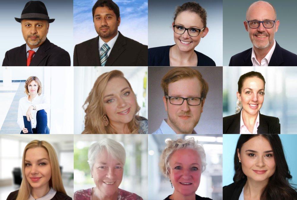 Teammitglieder des deutschen Remote Unternehmens Outsourcing4Work